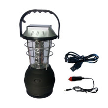 Dynamo rechargeable camping lantern