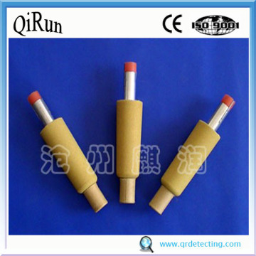 Low Oxygen and Temperature Sensor for Steel
