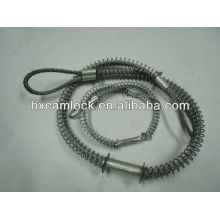 Hose whip lash connector