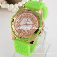 Fashion sports watch custom made silicone watches