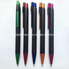 Black Promotional Plastic Pen (P1021C)