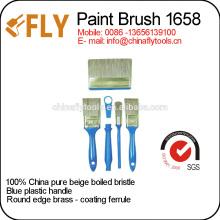 cepillos de pintura de cerda beige puro de china