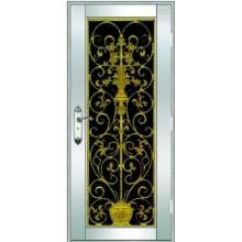 puerta del antioxidante de acero inoxidable