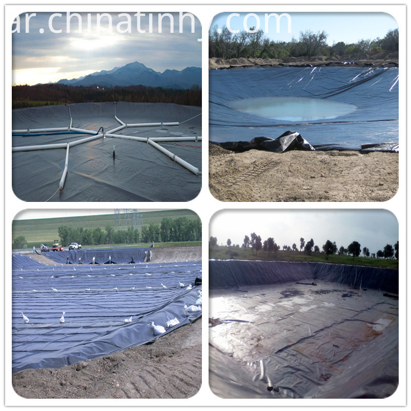 Waterproofing Materials HDPE Geomembrane