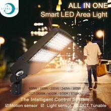 Luz de caixa de sapatos fotocélula 150 W luz de área LED