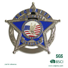 Security Officer Honor Coin Metal Made