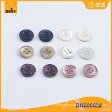 Logo gravé de qualité Logo Trocas Button BN80062