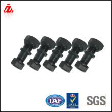 Diferentes estilos de aço carbono roda parafuso porca