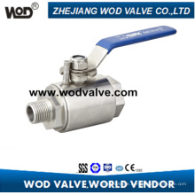 2PC Forged Steel Ball Valve