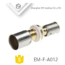 Encaixe de tubulação de união de bronze de conexão de compressão EM-F-A012