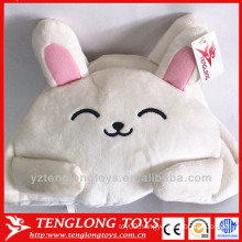 Wholesale soft short plush fabric tissue box covers