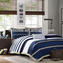Mi Zone Ashton Mini Comforter Duvet Cover Bedding Set Linen