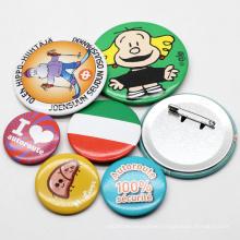 Free Sample Cheap Custom Metal 58mm Cartoon Pin Button Badge