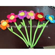 Cheap decorative artificial flower, flectional fabric flower for sale