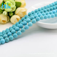 Wholesale Embellishment M0006 Natural Blue Color Loose Real Turquoise Gemstones
