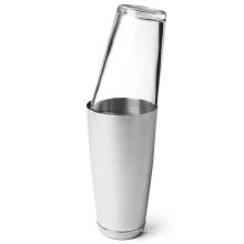 Barra de ferramentas de aço inoxidável e vidro Cocktail Set, Cocktail Shaker
