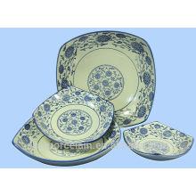 NUEVO tazón de fuente de cerámica del cuadrado con estilo clásico de China para BS-H0003