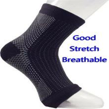 Calcetines tobilleros mangas de compresión ejercitador deportivo brace