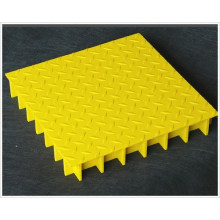 High Quality Anti Slip Composite UV-Protected FRP Glass Steel Grille
