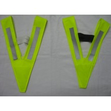 Yj-5009 Green Yellow Hi Vis Reflective Running Custom Safety Vest Clothes