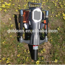 52mm Benzin Gas angetriebene elektrische Macht Mini Hand Zaun Stapel Stange Driving Hammer Maschine Portable Honda Motor Post Driver