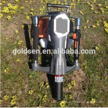 52mm gasolina de gas de energía eléctrica Mini mano cerca pila de pilotes de conducción de martillo de la máquina portátil Honda Motor Post Driver