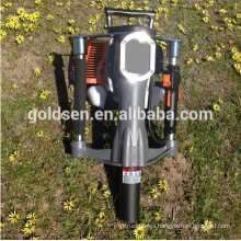 52mm Petrol Gas Powered Electric Power Mini Hand Fence Pile Piling Driving Hammer Machine Portable Honda Engine Post Driver