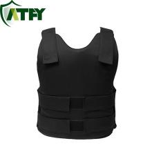 Camisa confortável leve de pouco peso preto NIJ IIIA da veste à prova de balas de Kevlar para a proteção pessoal