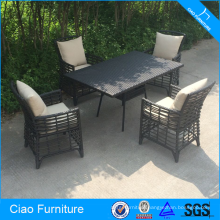 Wicker Outdoor Furniture Sunroom Dining Set