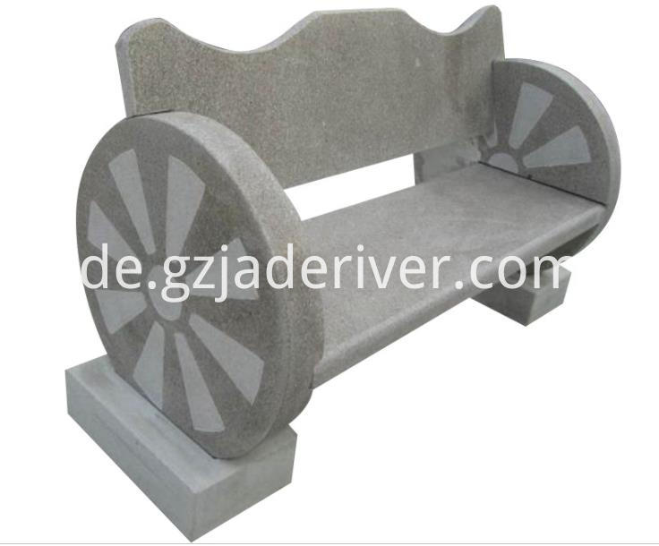 Granite Stone Table and Stool Custom