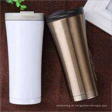 Edelstahl isolierte Wasserflasche Kaffeetasse