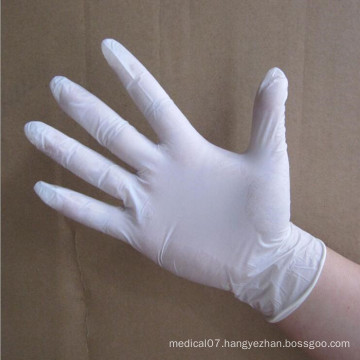 Latex Gloves with Powdering or Without Powdering