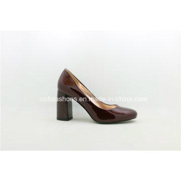 Nach Maß Frauen-rote untere Absatz-Schuhe