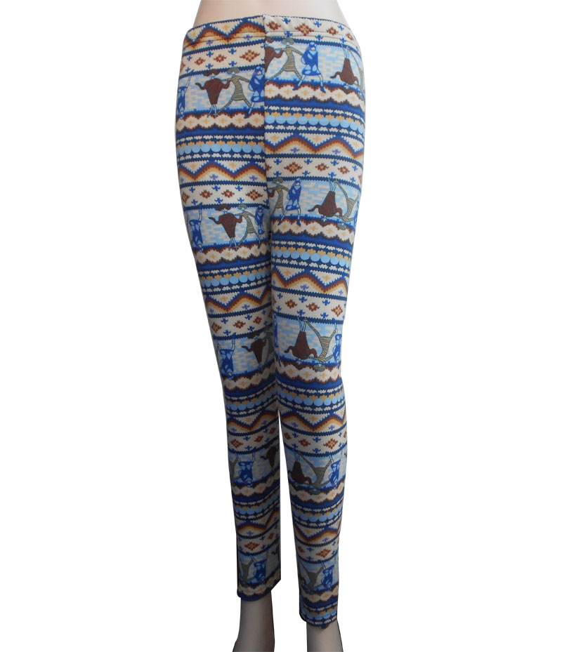 Leggings 98%polyester 2%spandes Leggings