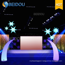 Wholesale Lighted Arch Inflatable Trees Pillars Tubes Cones Ivory Tusks