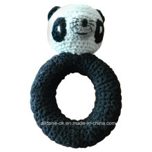 Crochet Baby Toy Grasping and Teething Toys Panda Stuffed Toys