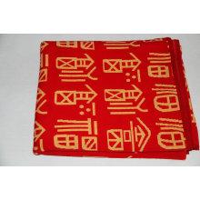 couverture rouge cachemire double côté hiver