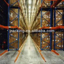 Jracking 4 этажей 7 паллеты глубина полки диск с помощью паллетных стеллажей для хранения tabbaco