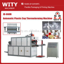 Automatic Plastic Thermoforming Machine(Plastic cup making machine,Plastic cups forming machine,Disposal cup maker)