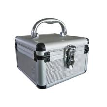 Suministramos la caja de aluminio pequeña de plata de diseño creativo