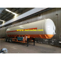 60m3 LPG Gas Transport نصف مقطورة