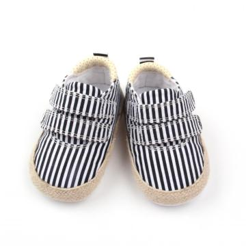Stripe Skidproof Toddler Baby Chaussures Casual