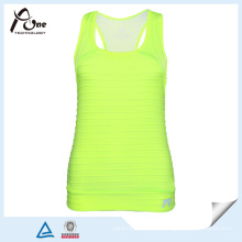 Dame Neon Yellow Tank Tops in Bulk Fitness Tragen