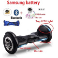 Hoverboard con Bluetooth LED Luci Big Wheel