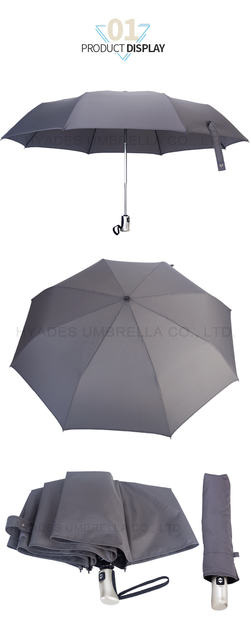 foldable umbrella automatic