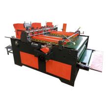 Corrugated machine press type small carton box semi auto folder gluer