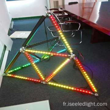 Éclairage d'étape Madrix Control Triangle 3D Led Bar