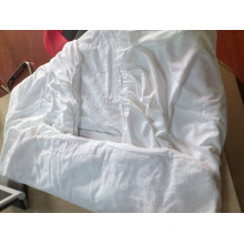 88% poliéster 12% nylon microplush ultra-fresco treament protetor de colchão
