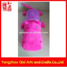 Customized electric hot water bag plush animal crocodile electric hand warmer