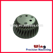 customized lead led die casting lamp parts